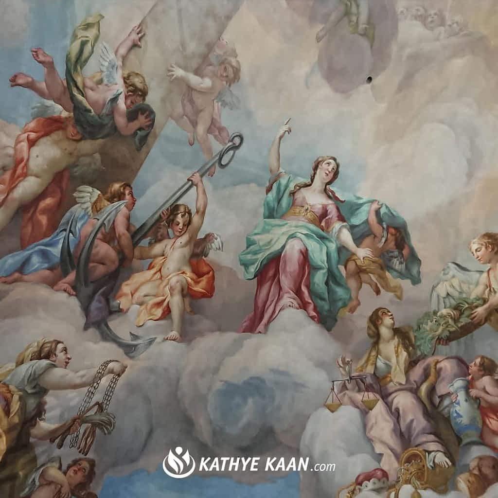 Sterrenbeelden, Aartsengelen en engelen uitgelicht blog artikel door Kathye Kaan