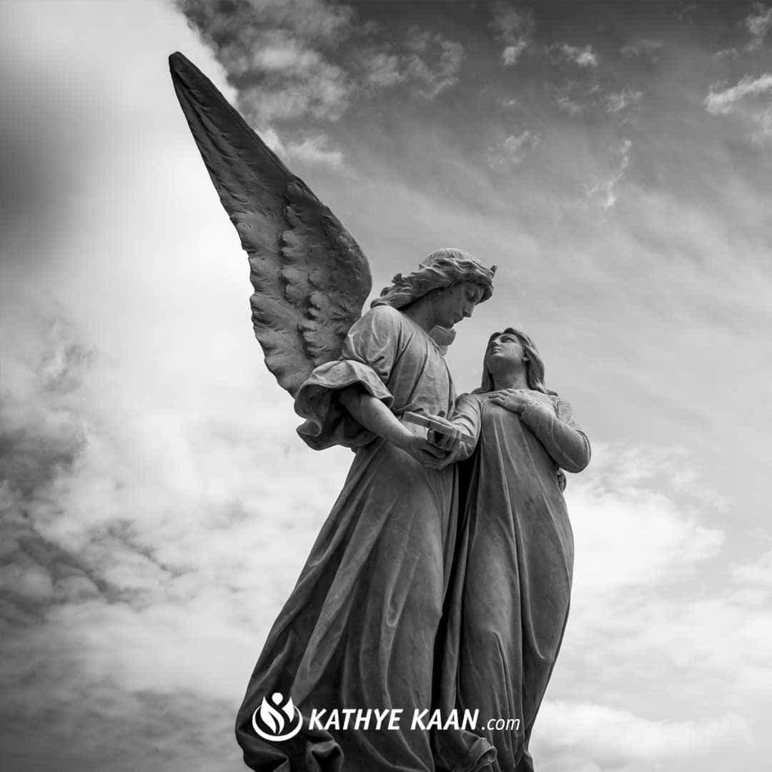 Ik weet niet welke soorten engelen mij kunnen helpen Kathye Kaan