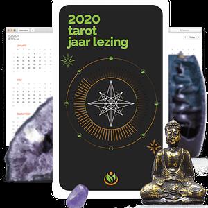 2020 Jaar Lezing en Persoonlijk tarot kaartlegging video door spiritueel consultant Kathye Kaan