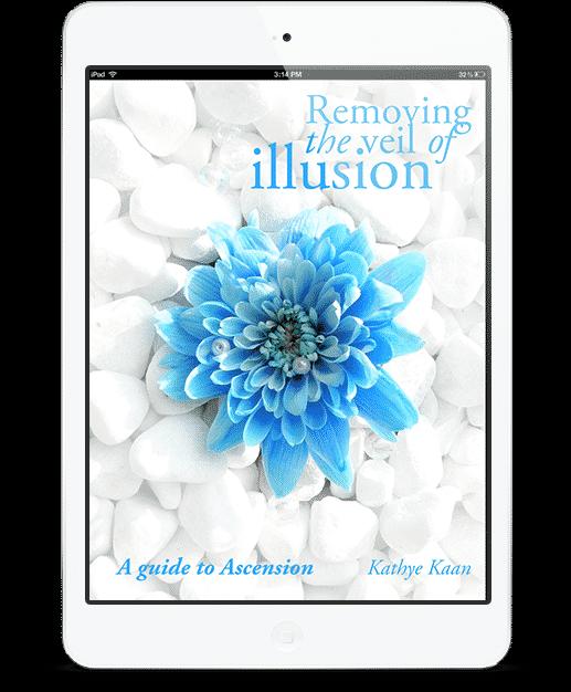 Mijn e-Book Removing The Veil Of Illusion - A Guide To Ascension door Kathye Kaan, Spiritueel Coach en Consultant