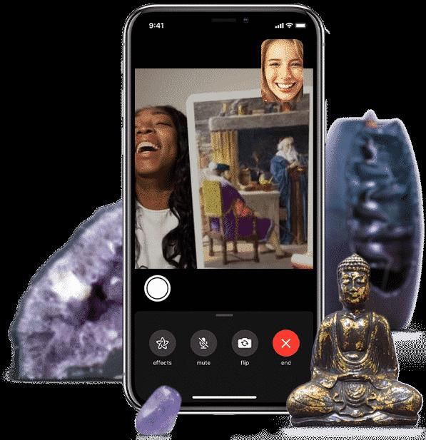 Live Video Chat Tarot Lezing bestellen door helderziend spiritueel coach Kathye Kaan