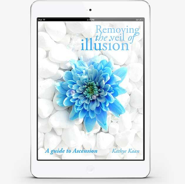eBook Removing The Veil Of Illusion door Kathye Kaan - Helderziend & Spiritueel Consultant